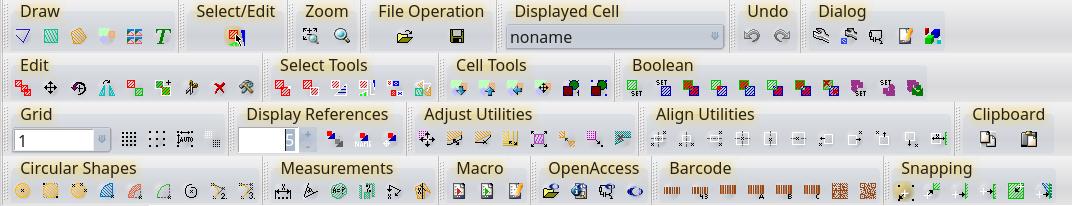 User Interface | LayoutEditor Documentation